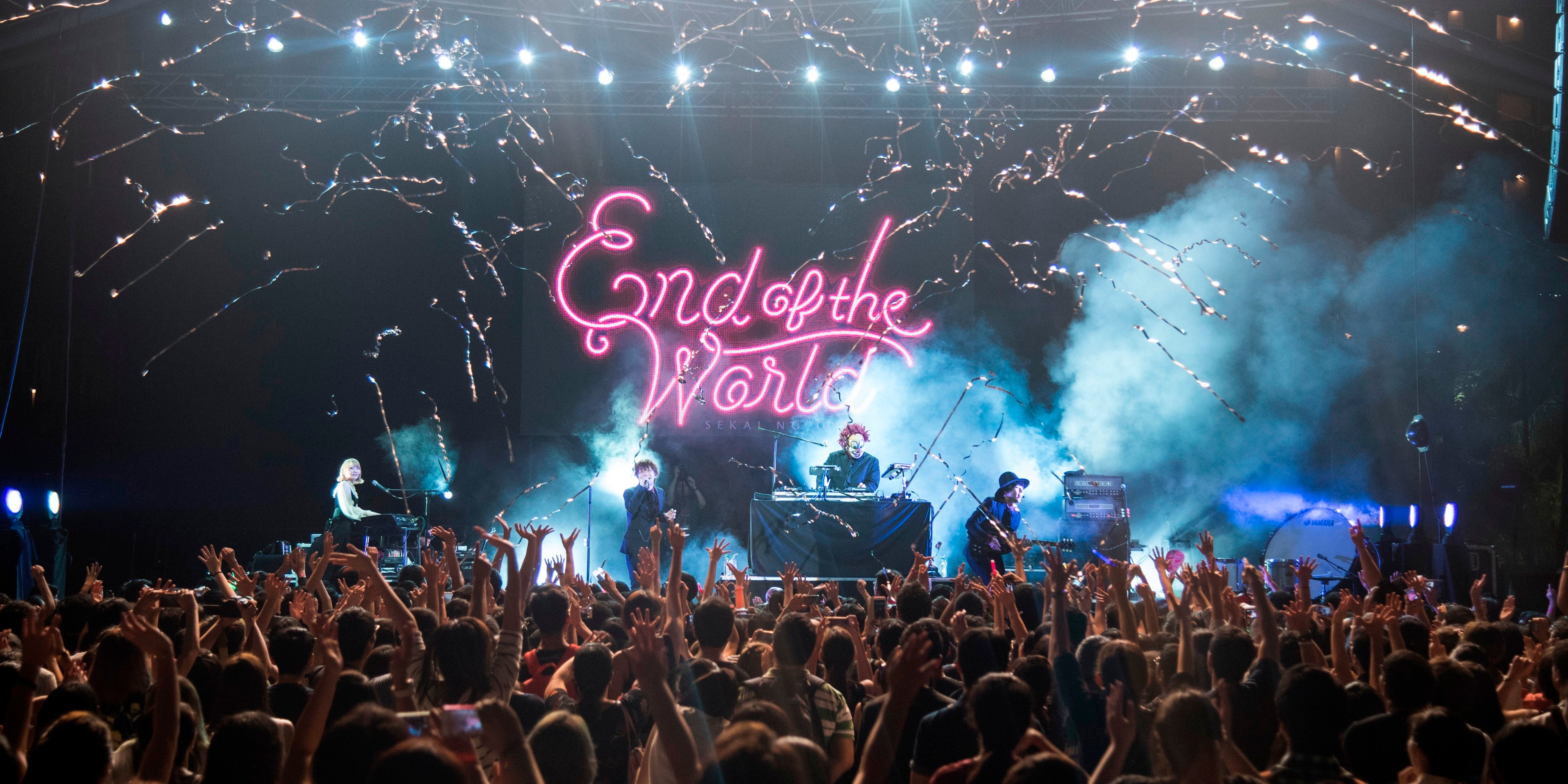 PHOTO GALLERY: SEKAI NO OWARI hosts a spirited End of the World party in Singapore
