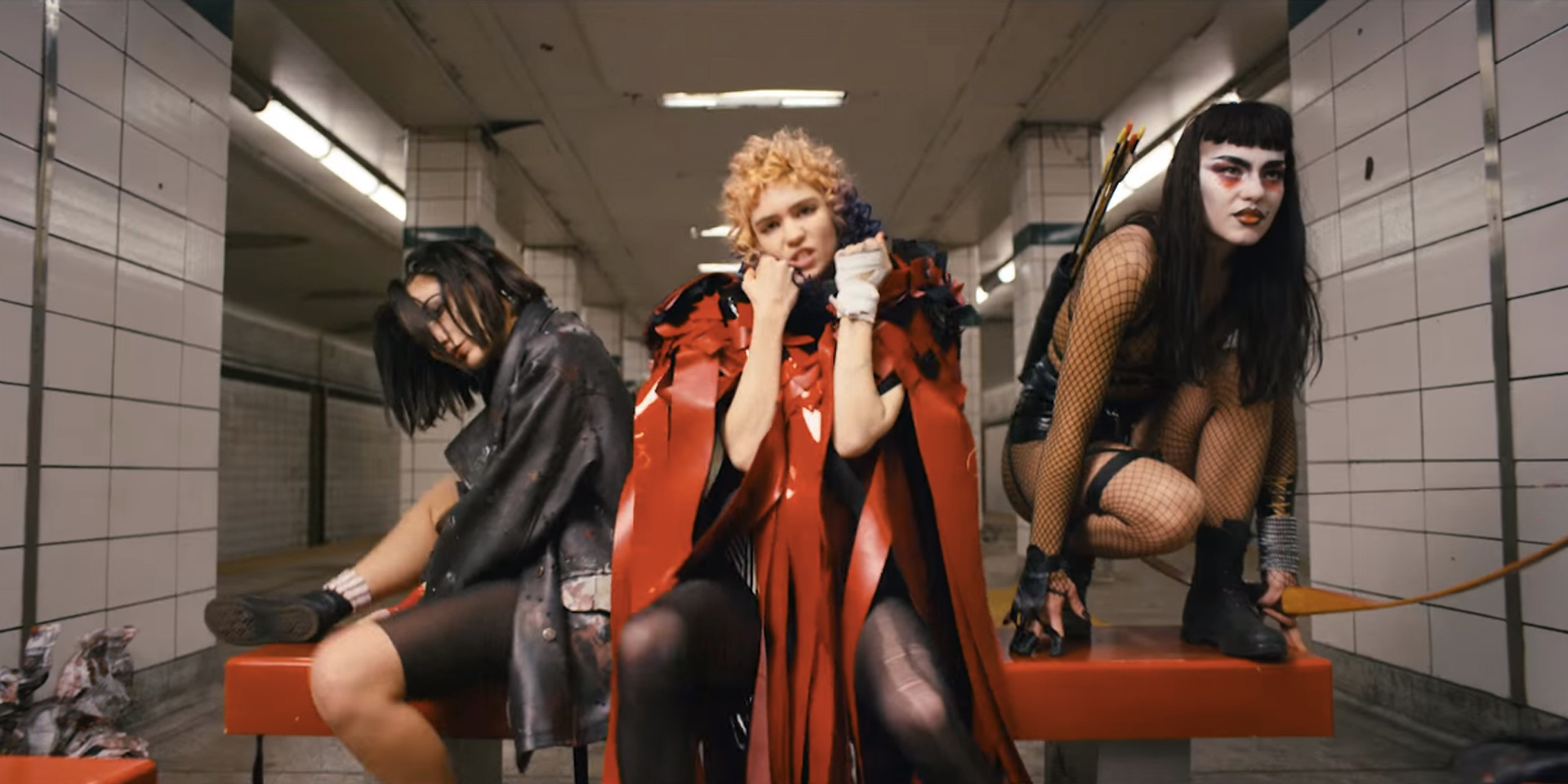 WATCH: Grimes' new hyper-surreal video for 'Kill V. Maim'