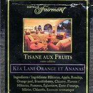 Kea Lani Orange Pineapple from Fairmont