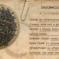 Darjeeling (1st Flush) from Mountain Rose Herbs