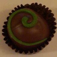 Matcha Tea-Infused Chocolate Truffle from Arbor Teas