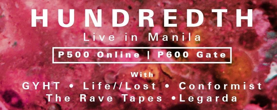 Hundredth Live in Manila