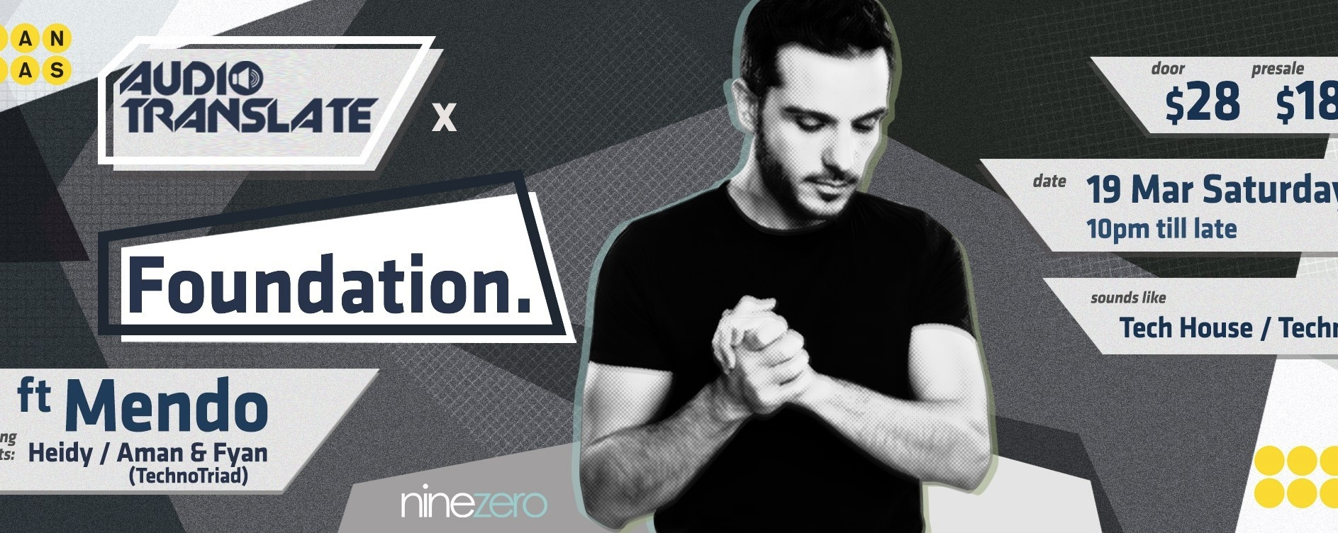 Audio Translate x Foundation. ft. Mendo