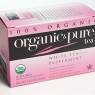 White Tea With Peppermint from Organic & Pure Tea