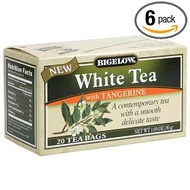 White Tea with Tangerine from Bigelow