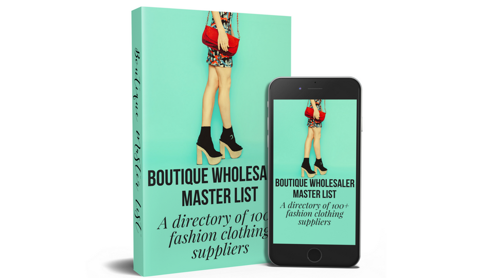 Are you looking for fashion wholesalers that carry clothes, jewelry, accessories, men and children's wear. Then this list is for your. ***60 of the best US based online boutique wholesalers and 17 independent designers that offer wholesale***.