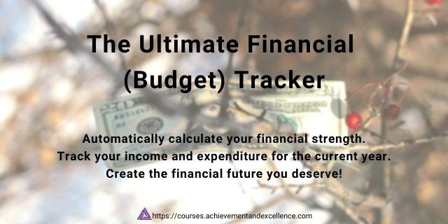 Financial Tracker - Budget Tracker