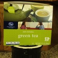 kroger 100% natural green tea from Kröger