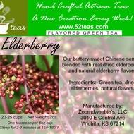Elderberry Green Tea from 52teas