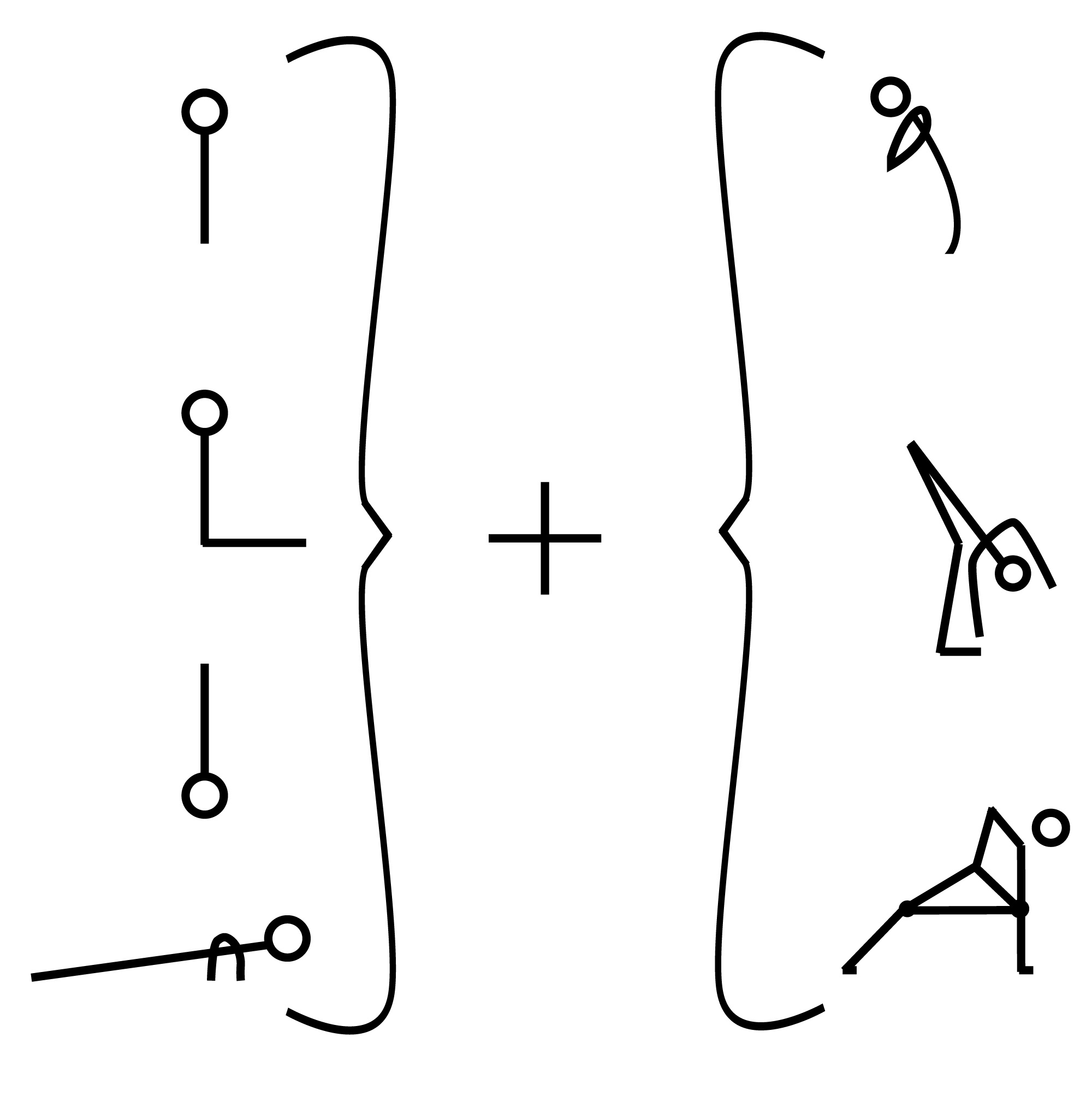 Pose Generator: all yoga asana is some combo of these categories