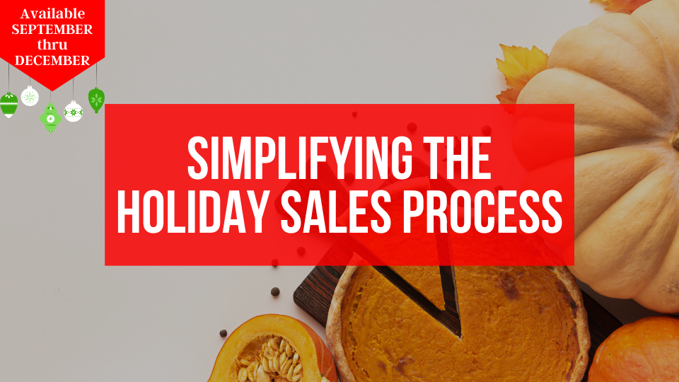 Learn how to simplify your online order process during the holidays from the Sugar Coin Academy, the Business Training program bakers.